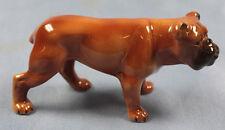englische Bulldogge dogge Porzellanfigur figur hundefigur Porzellan wagner b