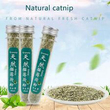 Organic 100% Natural Premium Catnip 45ml Menthol Flavor Funny Cat Toys Pet Safe