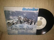 "STATUS QUO SPANISH 7"" SINGLE SPAIN LIVING ON AN ISLAND"