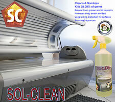 Sol Clean Evaporative Sunbed Cleaner Non Residue - 1 Litre Coconut