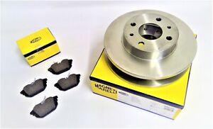 FIAT COUPE 2.0 20V TURBO  NEW Rear Brake Disc & Brake Pad Set  (Magneti Marelli)
