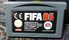 Gameboy Advance módulo fifa 06 ccm juego