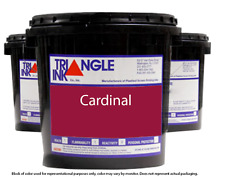 Triangle Ink 1128 Cardinal Screen Printing Plastisol Ink 1 Gallon