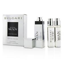 NEW Bvlgari Man Extreme The Refillable EDT Travel Spray 0.5oz Mens Men's Perfume