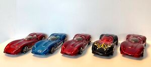 Lot of  5 Hot Wheels THOMASSIMA 3 TOM MEADE FIRST EDITIONS MAINLINE FINAL RUN