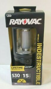 Rayovac DIY3DLN-B 3D LED Indestructible Lantern with Battery Waterproof NOS