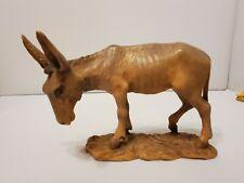 Anri Bernardi nativity donkey tan