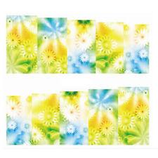 Fullcover Sticker Nail Art Wrap Nagelsticker Blume Blüte Gelb Weiss C171