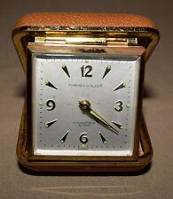 Vintage Phinney Walker Travel Intermittent Alarm Clock Semca Clock Company
