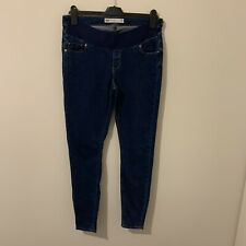 ASOS Size 12 Maternity Denim High Rise Jeans With Under Bump Waistband
