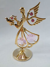Crystocraft 24K Gold Plated Sacred Angel Ornament