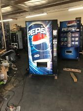 Pepsi Vendo 392-8 Soda Vending Machine W/Coin & Bill Acceptor Made In USA