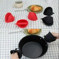 Mini Oven Mitts Gloves BPA Free Silicone Heat Resistant to 475°F 3 Colors 1/2Pcs