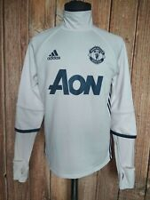 Manchester United Adidas Football Training Sweatshirt 2016/17 Soccer Jacket Sz M