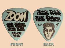 """Cheap Trick Rick Nielsen stage used """"Zoom"""" Guitar Pick - Rnrhof 2016"""