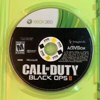 Call of Duty Black Ops II 2 GREAT (Disc Only) Fast Shipping! (Xbox 360 2012) COD