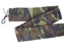 Tradition Archery  RECURVE BOW SOCK Woodland Camo Polyester Fleece Soft Case