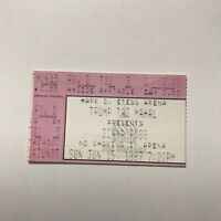Diana Ross Trump Taj Mahal Mark G Etess Arena Concert Ticket Stub Vtg June 1997