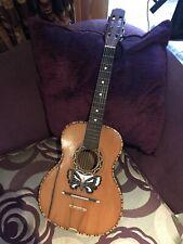 Vintage Sicilian Parlour Guitar For Restoration