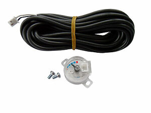 LPG Tankgeber Tankuhr Tanksensor Multiventil 0-90 Ohm universal + Kabel  (TS-90)