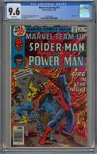 Marvel Team-Up #75 CGC 9.6 NM+ Wp 1978 Spider-Man & Power Man + John Byrne Art