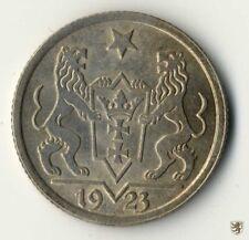 DANZIG, 1 Gulden, 1923, Wappen, Jg D7, vorzüglich