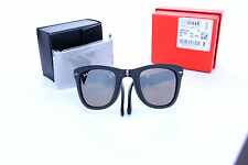 New RAY-BAN Folding  Wayfarer Rare Limited Edition Sunglass RB 4105 601S55 50