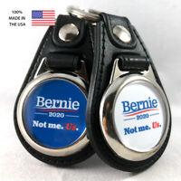 Bernie Sanders 2020 Not Me. Us. Key Fob Key Ring Keychain (2-Pack)
