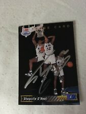 Shaquille O'Neal AUTOGRAPHED 1992 Upper Deck Trade Rookie CARD 1b w/COA RARE