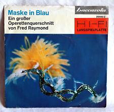 """7"""" Vinyl MASKE IN BLAU - Großer Querschnitt - Ilse Hübner / Andreas Werner u.a."""