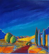 "B.H. BRODY ""BLUE BLESSINGS II"" L/E HAND S/N Glicee on Hahnemuhle Paper w/COA"