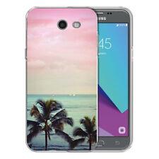 For Samsung Galaxy J3 Prime Beach Vacation TPU Gel Skin Phone Cover Case