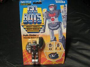 Vintage 1984 Tonka Gobots Pathfinder Friendly Robot UFO Space Ship Transformer