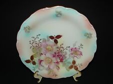 "Wild Rose by Schumann Arzberg Bavaria German Porcelain Serving Platter 11 5/8"""