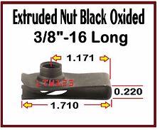 "(10) 3/8-16"" Long Extruded /speed/ u Nut"