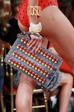 $795 SS17 Moschino Couture X Jeremy Scott 3D Pills Clutch Bag #JUSTSAYMOSCHINO