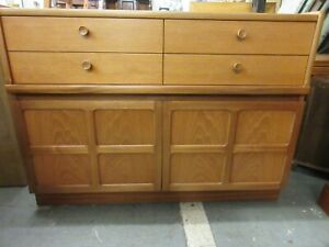 Nathan Compact Classic Sideboard Buffet Vintage Mid Century Retro Cupboard