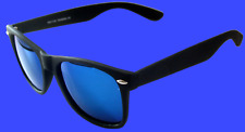 New Designer Wayfare sunglasses Black Matte/Blue Green revo Polarized lens