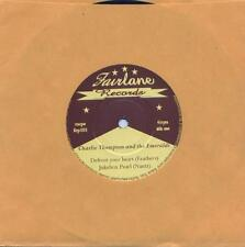 45 EP CHARLIE THOMPSON & The EMERALDS - ROCKABILLY - CHARLIE FEATHERS STYLE !