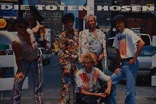 DIE TOTEN HOSEN - A3 Poster (ca. 42 x 28 cm) - Campino Clippings Fan Sammlung