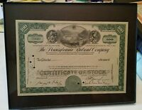 000 The Pennsylvania Railroad Company 100 Shares Stock Certificate Dated 1966