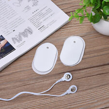 10PCS Electrode Pads Digital Therapy Machine Massager Electrode Patches NEW