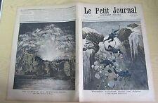 Le petit journal 1892 87 Accident chasseurs alpins dans les Alpes