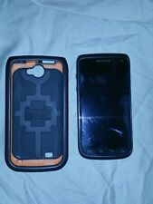 Used Samsung Galaxy Exhibit SGH-T679 - 4GB - Deep Blue (T-Mobile) Smartphone ++