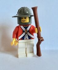 LEGO Minifigure red Imperial soldier with Musket gun. Pirate sets.