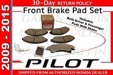 2009-2015 HONDA PILOT OEM 45022-SZA-A11 Brake Pad or Shoe, Front/Disc Brake Pad