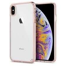 Original Spigen Protector Cover for iPhone XS Max Ultra Hybrid Case Pink Clear