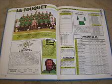 FOOTBALL COUPURE LIVRE PHOTO MRBT27 20x10 D2 GrA LE TOUQUET AC 1988/1989