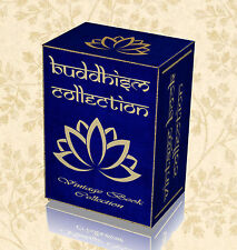 200 Rare Buddhism Books on DVD The Buddha Religion Sacred Prayer Beads Gold 23