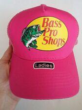 BASS PRO SHOPS LADIES PINK TRUCKER HAT CAP, MESH, SNAPBACK, OSFM, NWOT!